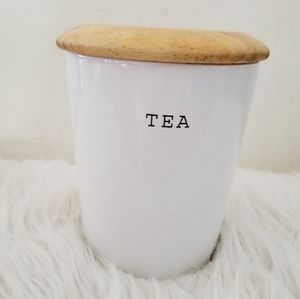 Tea canister farmhouse style